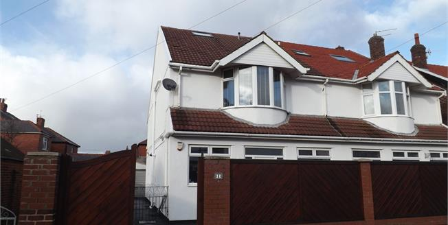 Asking Price £220,000, 4 Bedroom Semi Detached House For Sale in Blackpool, FY4