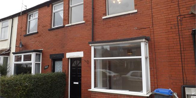 Asking Price £90,000, 2 Bedroom Terraced House For Sale in Blackpool, FY1