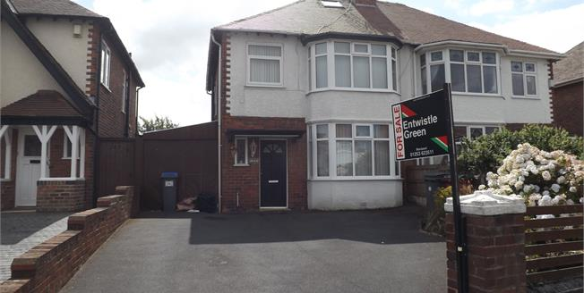 Offers Over £135,000, 3 Bedroom Semi Detached House For Sale in Blackpool, FY2