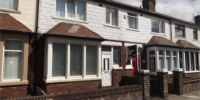 Offers Over £100,000, 3 Bedroom Terraced House For Sale in Blackpool, FY4