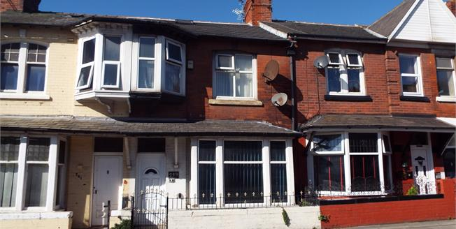 Asking Price £60,000, 3 Bedroom Terraced House For Sale in Blackpool, FY1