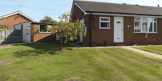 Offers Over £150,000, 2 Bedroom Semi Detached Bungalow For Sale in Blackpool, FY4