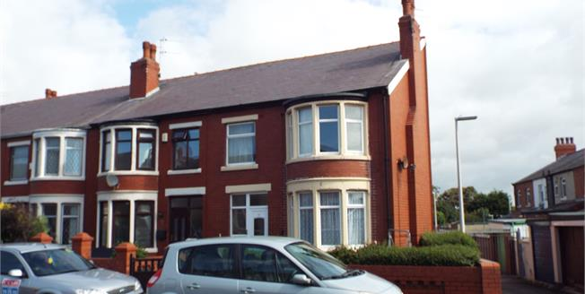 Asking Price £110,000, 3 Bedroom End of Terrace House For Sale in Blackpool, FY1