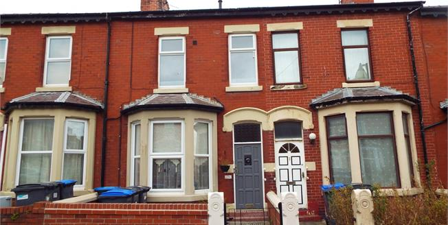 Asking Price £110,000, 3 Bedroom Terraced House For Sale in Blackpool, FY1