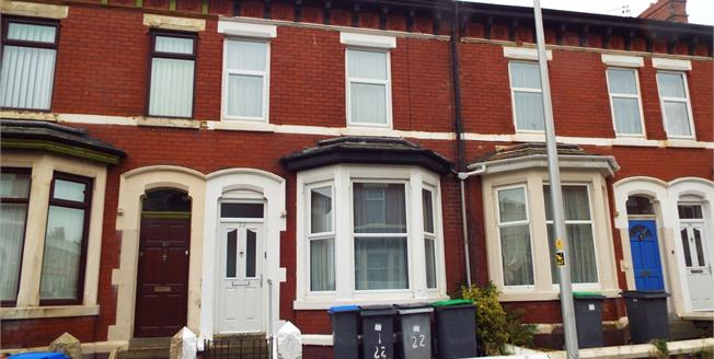 Asking Price £105,000, 2 Bedroom Terraced House For Sale in Blackpool, FY1