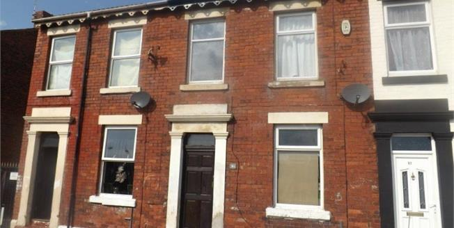 Offers Over £60,000, 2 Bedroom Terraced House For Sale in Blackpool, FY1