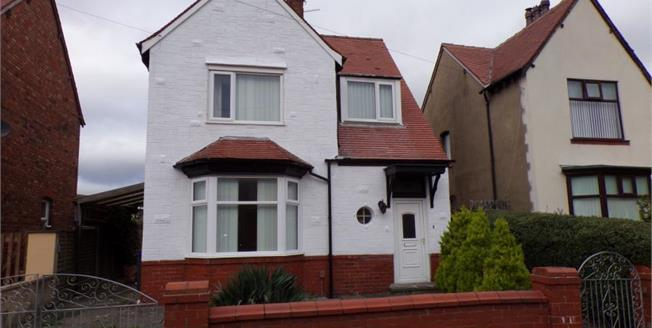 Asking Price £120,000, 3 Bedroom Detached House For Sale in Lancashire, FY3
