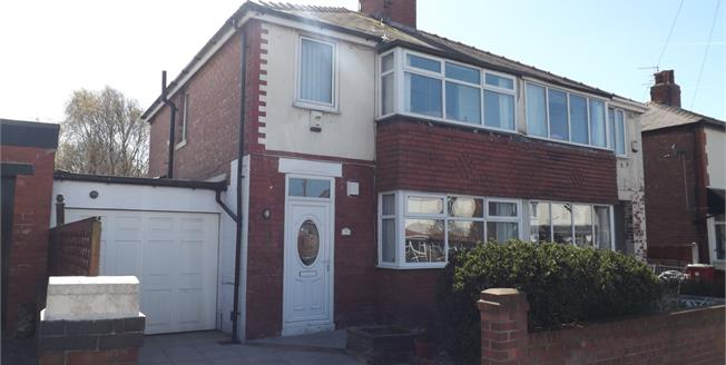 Offers Over £130,000, 3 Bedroom Semi Detached House For Sale in Blackpool, FY3