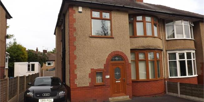 Offers Over £200,000, 3 Bedroom Semi Detached House For Sale in Blackburn, BB2