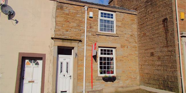 Offers in the region of £80,000, 2 Bedroom Terraced Cottage For Sale in Blackburn, BB2