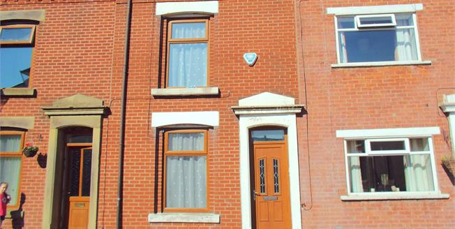 Offers in the region of £57,500, 2 Bedroom Terraced House For Sale in Blackburn, BB2