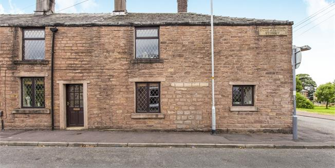 Offers in the region of £110,000, 3 Bedroom End of Terrace Cottage For Sale in Blackburn, BB2