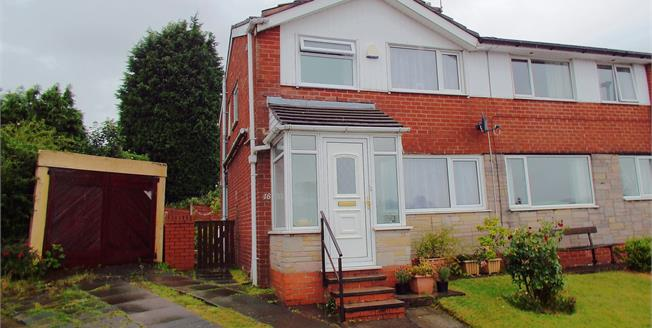 Offers in the region of £130,000, 3 Bedroom Semi Detached House For Sale in Blackburn, BB1