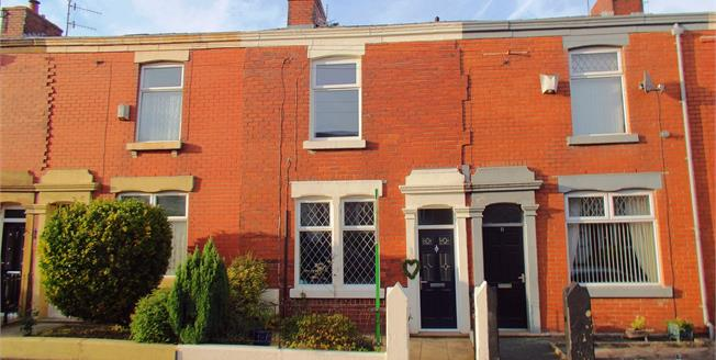 Offers Over £85,000, 2 Bedroom Terraced House For Sale in Blackburn, BB2