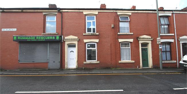 Asking Price £72,950, 2 Bedroom Terraced House For Sale in Blackburn, BB2