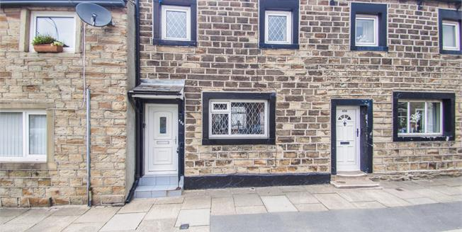 Offers Over £77,000, 2 Bedroom Terraced Cottage For Sale in Burnley, BB10