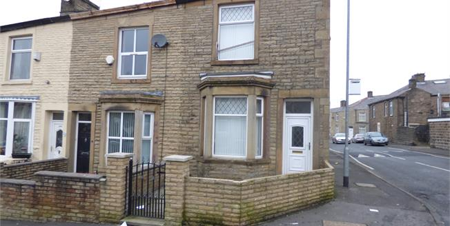 Offers Over £70,000, 2 Bedroom End of Terrace House For Sale in Accrington, BB5