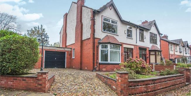 Offers in the region of £225,000, 4 Bedroom House For Sale in Bolton, BL3