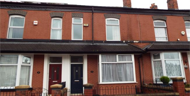 Offers in the region of £115,000, 5 Bedroom Terraced House For Sale in Bolton, BL1