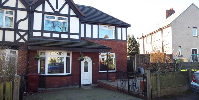 Offers in the region of £125,000, 3 Bedroom Semi Detached House For Sale in Bolton, BL3