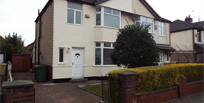 Offers in the region of £140,000, 3 Bedroom Semi Detached House For Sale in Farnworth, BL4