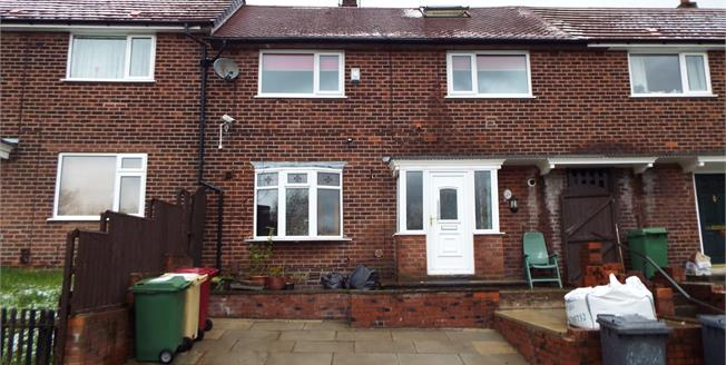 Offers Over £85,000, 3 Bedroom Terraced House For Sale in Bolton, BL3
