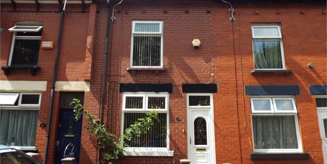 Offers in the region of £70,000, 2 Bedroom Terraced House For Sale in Bolton, BL1