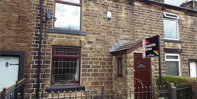Offers Over £118,000, 2 Bedroom Terraced House For Sale in Tottington, BL8