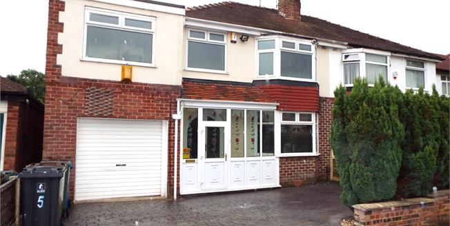 Offers Over £220,000, 4 Bedroom Semi Detached House For Sale in Bury, BL9