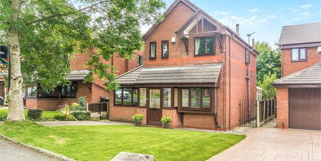 Offers Over £210,000, 4 Bedroom Detached House For Sale in Radcliffe, M26