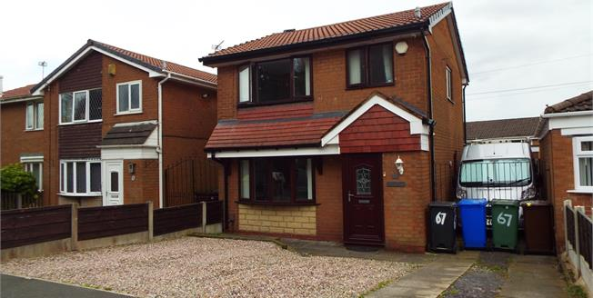 Asking Price £170,000, 3 Bedroom Detached House For Sale in Radcliffe, M26