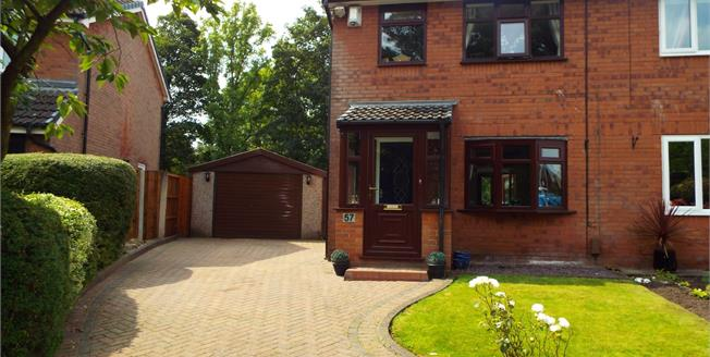 Asking Price £160,000, 3 Bedroom Semi Detached House For Sale in Radcliffe, M26