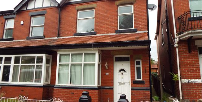 Offers Over £135,000, 3 Bedroom Semi Detached House For Sale in Bury, BL9