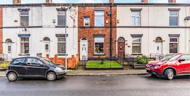 Offers Over £90,000, 2 Bedroom Terraced House For Sale in Bury, BL9
