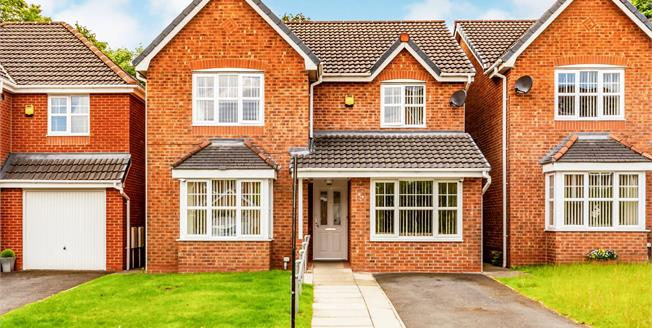 Offers Over £270,000, 4 Bedroom Detached House For Sale in Bury, BL9