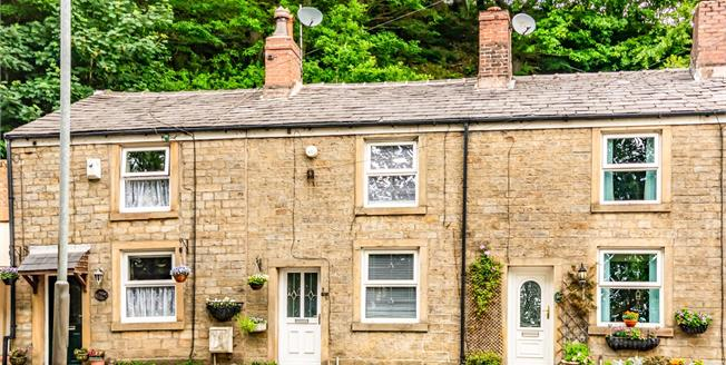 Offers Over £140,000, 2 Bedroom Terraced Cottage For Sale in Bury, OL10