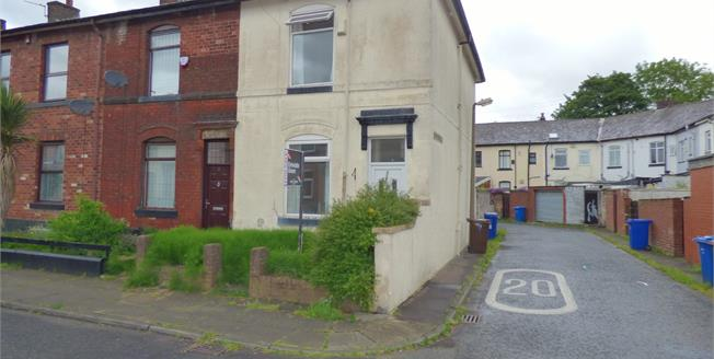 Asking Price £85,000, 2 Bedroom End of Terrace House For Sale in Bury, BL9