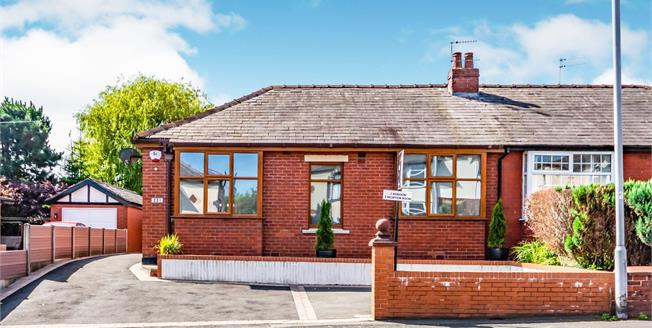 Asking Price £295,000, 3 Bedroom Semi Detached Bungalow For Sale in Bury, BL8