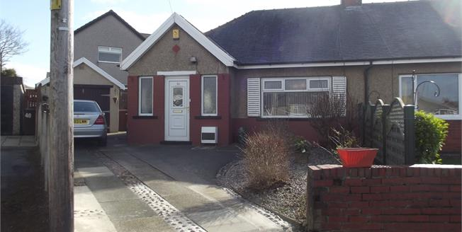 Offers in the region of £135,000, 2 Bedroom Semi Detached Bungalow For Sale in Burnley, BB10