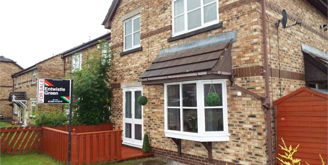 Offers Over £115,000, 2 Bedroom Semi Detached House For Sale in Burnley, BB12