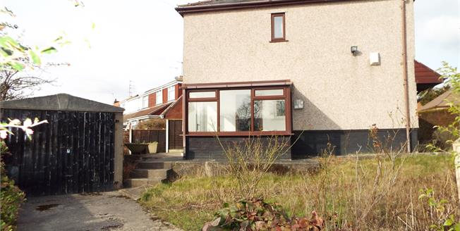 Offers Over £85,000, 2 Bedroom Semi Detached House For Sale in Burnley, BB12