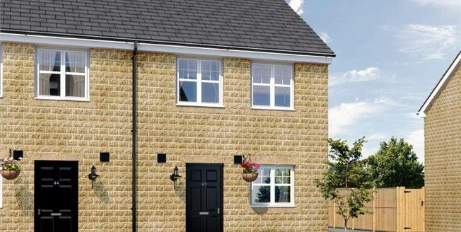 £92,995, 2 Bedroom Semi Detached House For Sale in Burnley, BB11