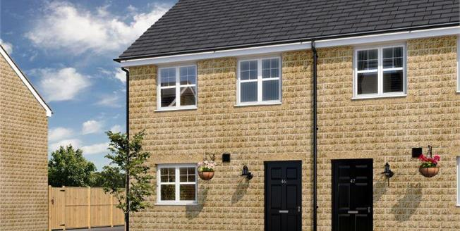 £109,995, 3 Bedroom Semi Detached House For Sale in Burnley, BB11