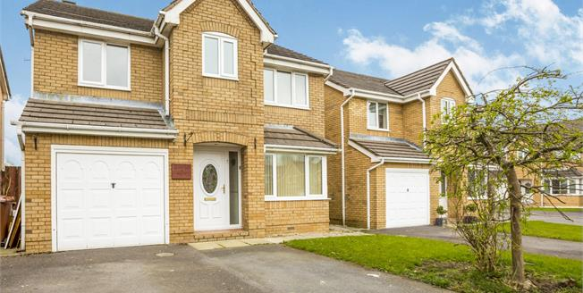 Offers in the region of £205,000, 4 Bedroom Detached House For Sale in Burnley, BB12