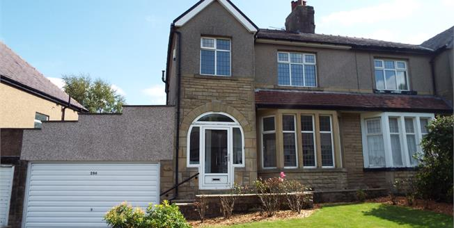 Offers Over £250,000, 3 Bedroom Semi Detached House For Sale in Burnley, BB11
