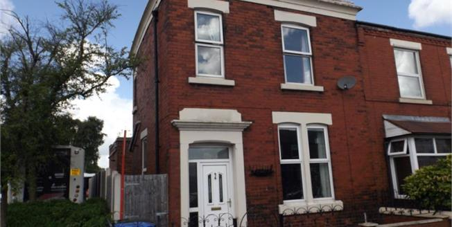 Offers in the region of £85,000, 3 Bedroom End of Terrace House For Sale in Chorley, PR6