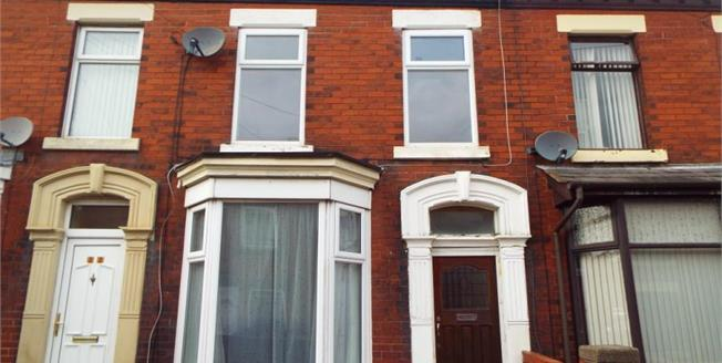 Offers Over £72,500, 3 Bedroom Terraced House For Sale in Chorley, PR7