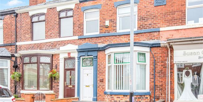 Offers in excess of £170,000, 3 Bedroom Terraced House For Sale in Chorley, PR7