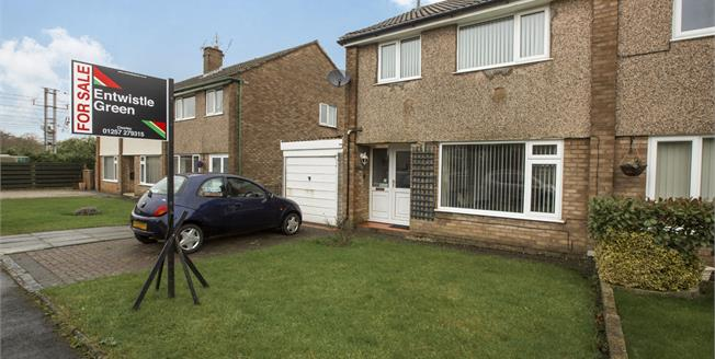Asking Price £145,000, 3 Bedroom Semi Detached House For Sale in Euxton, PR7