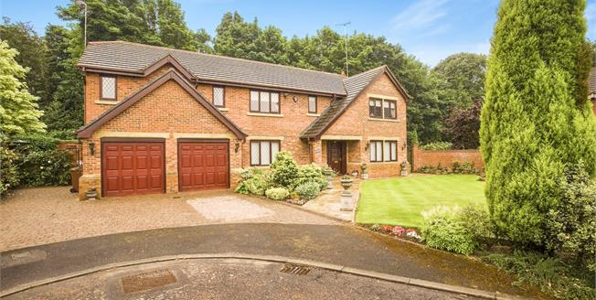 Asking Price £850,000, 5 Bedroom Detached House For Sale in Whittle-le-Woods, PR6